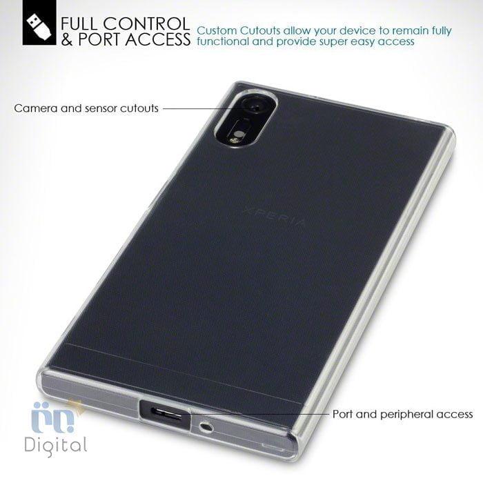 کاور محافظ ژله ای TPUمناسب برای گوشی سونی مدل XZ لوازم جانبی کاور و کیف