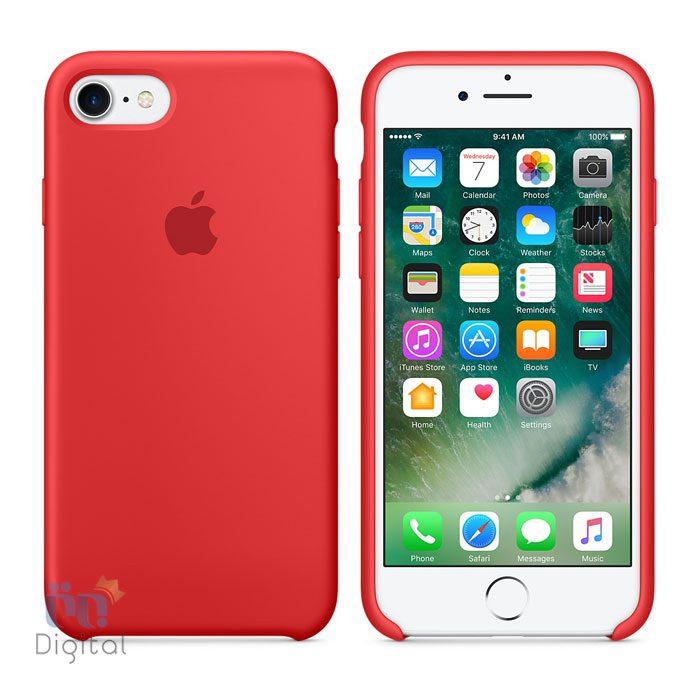 کاور محافظ سیلیکون مناسب برای گوشی اپل مدل iPhone 7 لوازم جانبی کاور و کیف