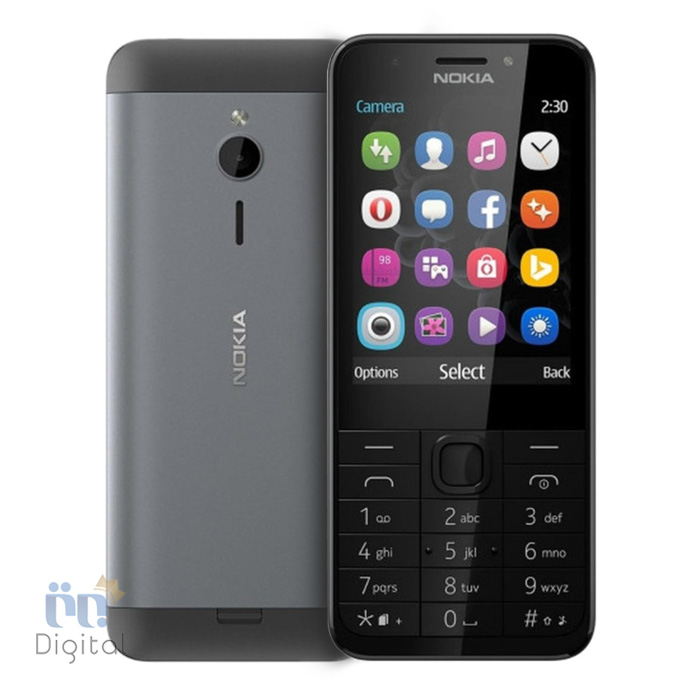 گوشی موبایل نوکیا مدل ۲۳۰ موبایل دو سیم کارت, موبایل کلاسیک