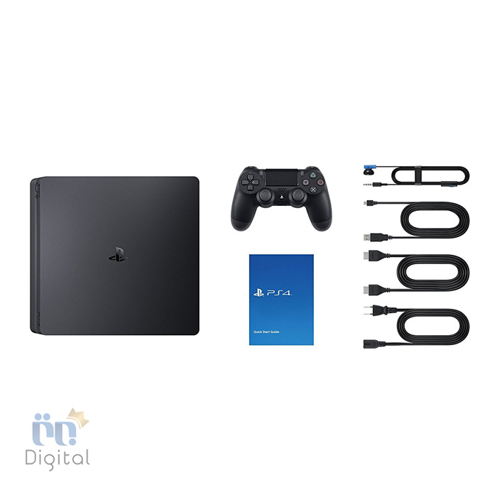 کنسول سونی مدل PlayStation 4 Slim ظرفیت ۵۰۰ گیگابایت ریجن ۲