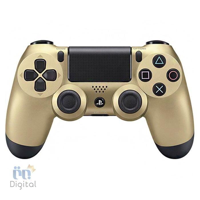 دسته بازی سونی مدل DualShock 4 رنگ Gold لوازم جانبی کنسول بازی دسته بازی