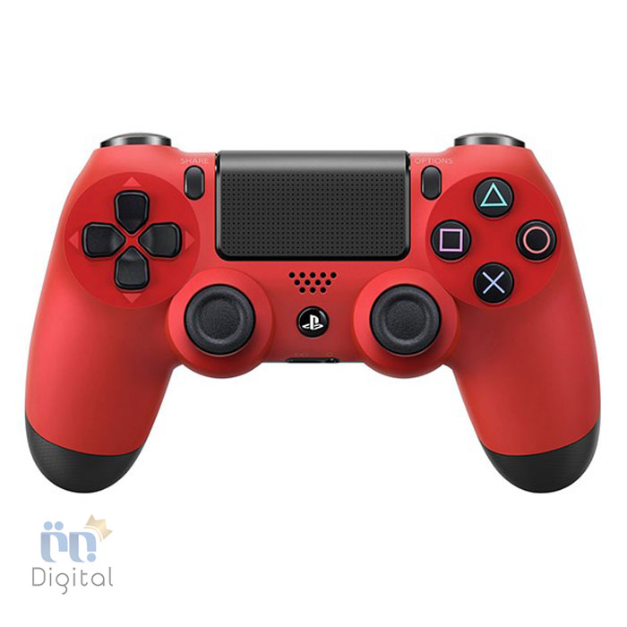 دسته بازی سونی مدل DualShock 4 رنگ Magma Red لوازم جانبی کنسول بازی دسته بازی