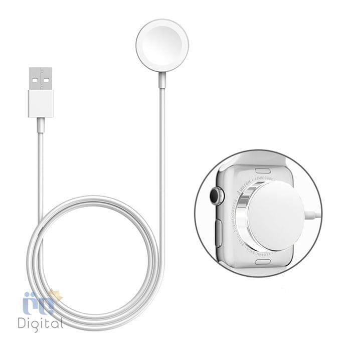 ساعت هوشمند اپل واچ سری ۳ مدل Silver Aluminum Case with Fog Sport Band 42mm - MQL02 ابزارهای پوشیدنی ساعت هوشمند