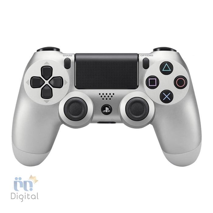 دسته بازی سونی مدل DualShock 4 رنگ Silver لوازم جانبی کنسول بازی دسته بازی
