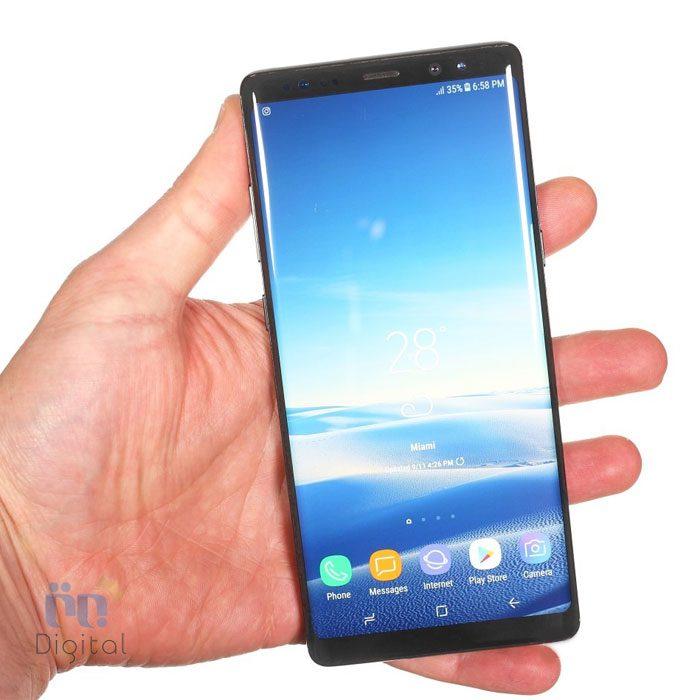 گوشی موبایل سامسونگ مدل Galaxy Note 8 ظرفیت ۶۴ گیگابایت تک سیمکارت موبایل مقاوم در برابر آب, موبایل مناسب بازی, موبایل مناسب عکاسی, موبایل مناسب عکاسی سلفی