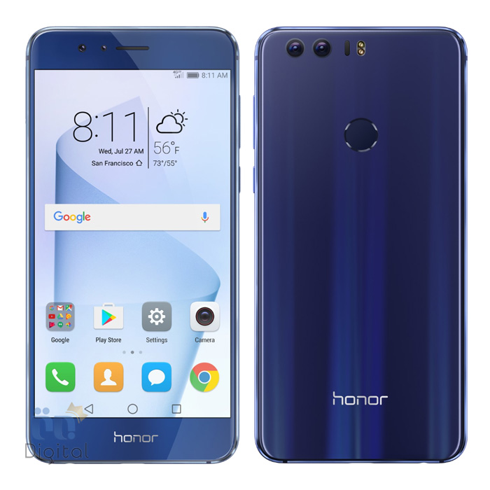 گوشی موبایل هواوی مدل Honor 8 موبایل دو سیم کارت, موبایل مناسب بازی, موبایل مناسب عکاسی, موبایل مناسب عکاسی سلفی