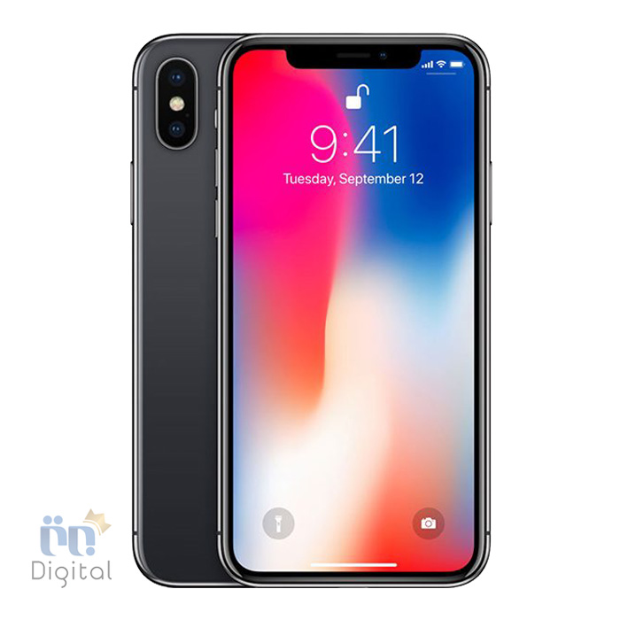 گوشی موبایل اپل مدل iPhone X ظرفیت ۶۴ گیگابایت موبایل تک سیم کارت, موبایل فبلت, موبایل مقاوم در برابر آب, موبایل مناسب بازی, موبایل مناسب عکاسی, موبایل مناسب عکاسی سلفی