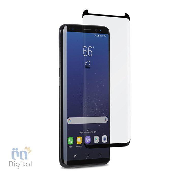 محافظ صفحه نمایش شیشه ای تمپرد مناسب برای گوشی سامسونگ مدل Galaxy S8 لوازم جانبی محافظ صفحه نمایش
