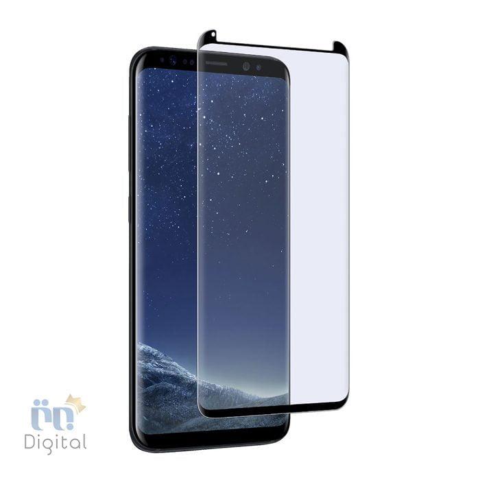 محافظ صفحه نمایش شیشه ای تمپرد مناسب برای گوشی سامسونگ مدل Galaxy S8 Plus لوازم جانبی محافظ صفحه نمایش