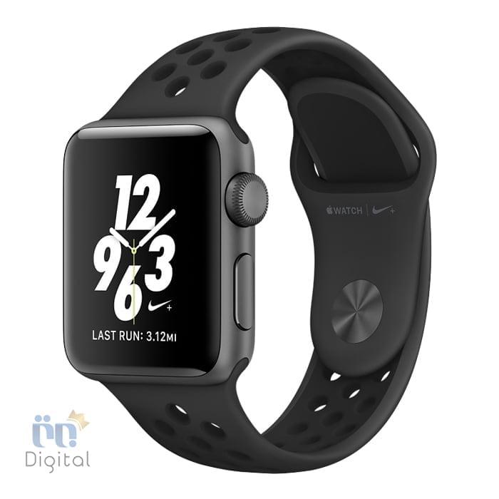 ساعت هوشمند اپل واچ سری ۲ مدل Nike Plus Space Gray with Anthracite/Black Band 42mm - MQ182 ابزارهای پوشیدنی ساعت هوشمند