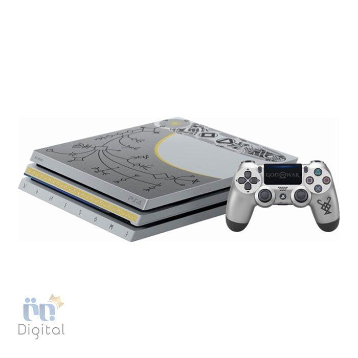 کنسول سونی مدل PlayStation 4 Pro باندل Limited Edition God of War ظرفیت ۱ ترابایت ریجن ۱