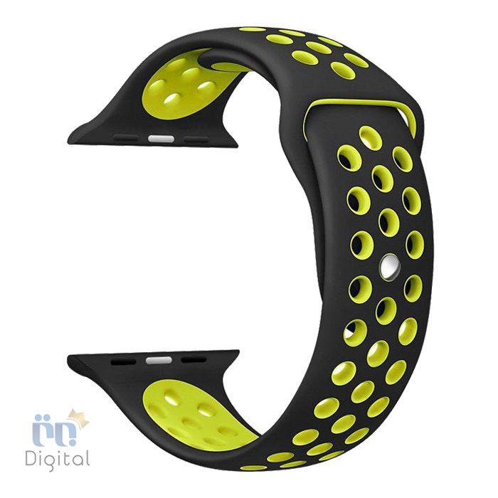 بند سیلیکونی طرح Nike مناسب برای ساعت هوشمند اپل ۴۲ میلی متری