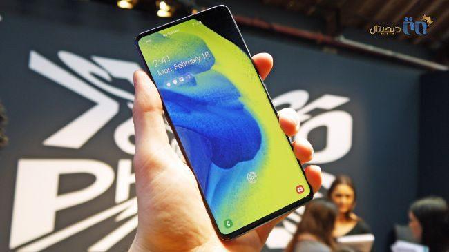 گوشی Galaxy S10 مدل 5G