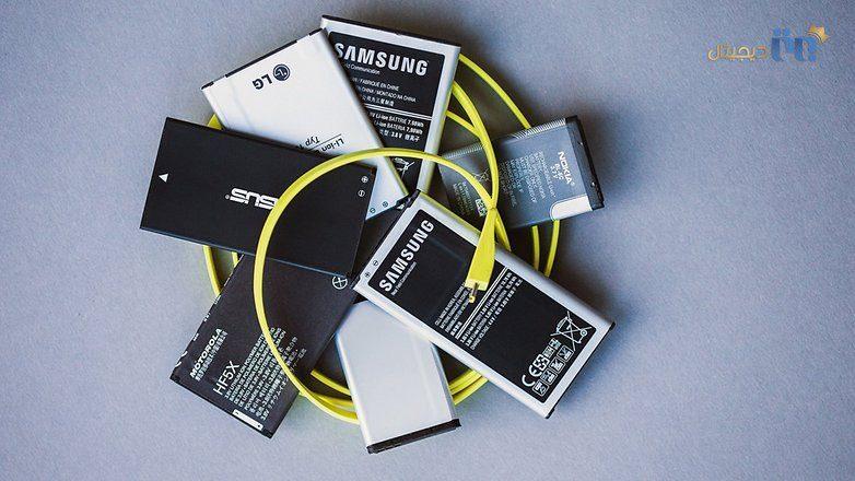 باتری های گوشی   چگونه یک گوشی تلفن همراه که به درستی شارژ نمی شود را تعمیر کنیم؟