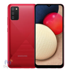 Galaxy A02s Red
